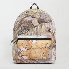A group of cute Squirrels Backpack
