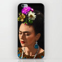 FRIDA KAHLO TURQUESA iPhone Skin