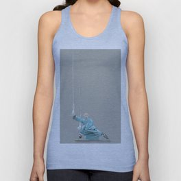 Paths to the waterfall - three - Tai Chi Unisex Tank Top