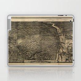 Bird's Eye View of St. Louis, Missouri (1876) Laptop & iPad Skin