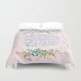 Give You Hope - Jeremiah 29:11 Duvet Cover