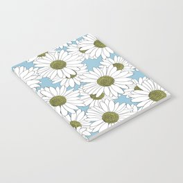 Daisy Blue Notebook