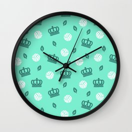Volley Kings! Wall Clock