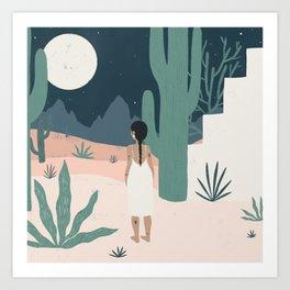 sonoran siren Art Print