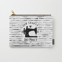 Sew Crafty - Just Make It - Do It Yourself - Carry-All Pouch