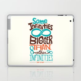 Some Infinities Are Bigger Than Other Infinities Laptop & iPad Skin