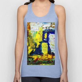 Summer in the city Unisex Tank Top