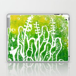 Summer Herbs, abstract floral Laptop & iPad Skin