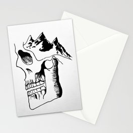 Possessed by the Mountains Stationery Cards