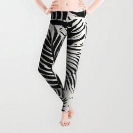 Palm Pattern Leggings