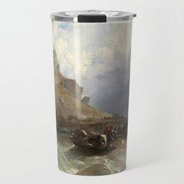 St Michael's Mount, 1830 Travel Mug