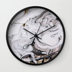 Chic Marble Wall Clock