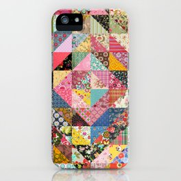 Grandma's Quilt iPhone Case
