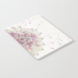 Big Succulent Watercolor Notebook