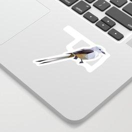 Oklahoma – Scissor-Tailed Flycatcher (Black) Sticker