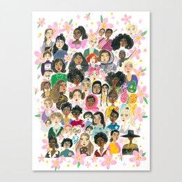 Women of the world Canvas Print