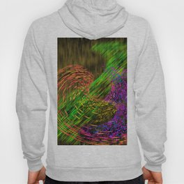 Turbulence colored and gold Hoody