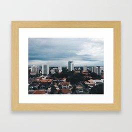 City. Framed Art Print