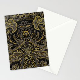Paisley 3 Stationery Cards