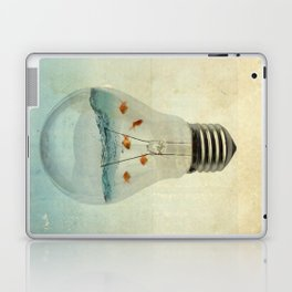 blue sea thinking Laptop & iPad Skin