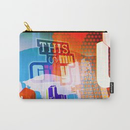 This is my city LS Carry-All Pouch