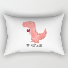 Winosaur Rectangular Pillow
