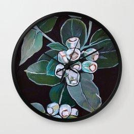 Gumnuts Wall Clock