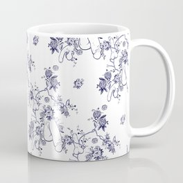 Penis Pattern Coffee Mug