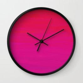 Rose at Dawn Wall Clock