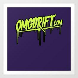 OMGDrift Duvet Art Print