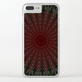 Some Other Mandala 252 Clear iPhone Case