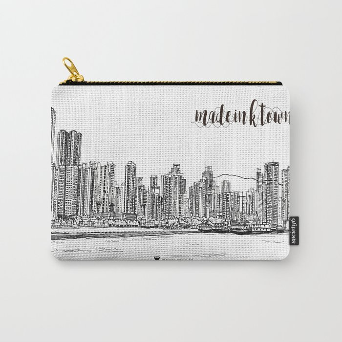 Travel in Hong Kong Kennedy Town Carry-All Pouch