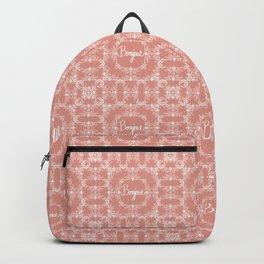 Bonjour - Autumn Peach Backpack