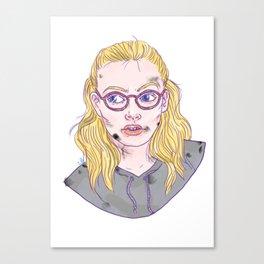 Needy Canvas Print