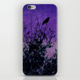Raven Sentinel iPhone Skin