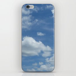 Blue Summer Sky // Cloud Photography iPhone Skin