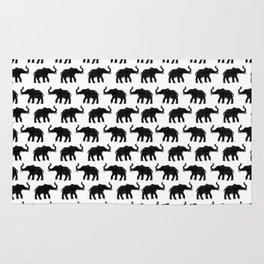 Elephants on Parade Rug