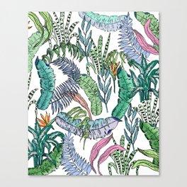 Tropical Print New 2 Canvas Print