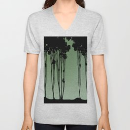 Forest Silhouette by Seasons K Designs Unisex V-Neck