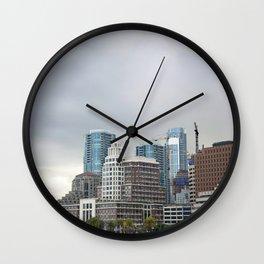 Downtown San Francisco, Changing Skyline Wall Clock