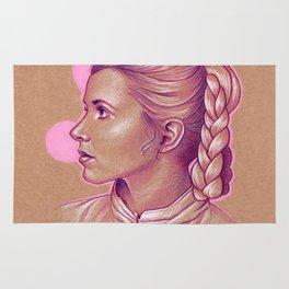 Pink Princess Leia Rug