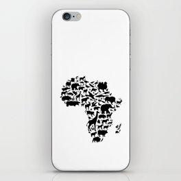 Animals of Africa iPhone Skin