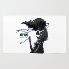 Afro Samuraiart Rug