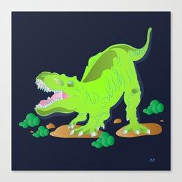 Dino - Bright Canvas Print