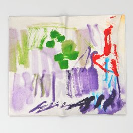 Doodles Paper by Elisavet World Throw Blanket