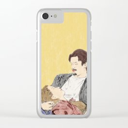Before Sunrise - Watercolor Clear iPhone Case