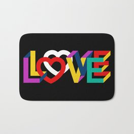 IN LOVE ANYTHING GOES ! Bath Mat