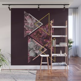 Wine Succulents #society6 #decor #buyart Wall Mural
