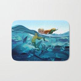 Aquaman Bath Mat
