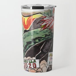 Godzilla vs The Nazis Travel Mug